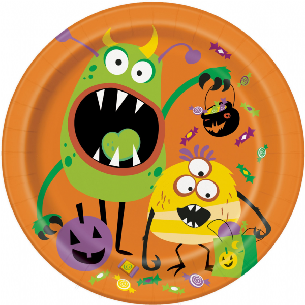 Silly Halloween Monsters 9